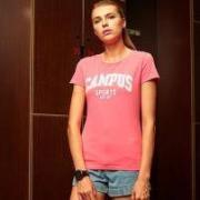 XTEP 特步 t883228019332 女子运动T恤