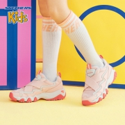 Skechers斯凯奇女童2019春夏新款 老爹鞋休闲时尚熊猫鞋 996455L 319元¥319