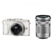 OLYMPUS 奥林巴斯 E-PL9 双镜头单电套机(14-42mm EZ+40-150mm)白色