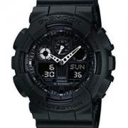 CASIO 卡西欧 G-SHOCK GA-100-1A1 双显运动手表