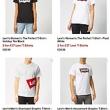 2件!26款可选,Levi's 李维斯 The Perfect 男女短袖T恤37英镑约¥329,满50英镑免费直邮