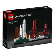 LEGO 乐高 Architecture 建筑系列 21043 旧金山  299.25元包邮
