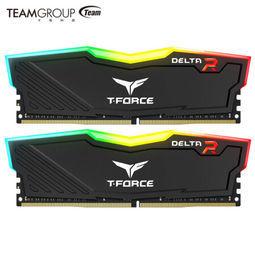 Team 十铨 DELTA RGB DDR4 3000 台式机内存 16GB套装(8GB×2) 759元包邮