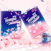 新品发售,Tempo 得宝 樱花香味 迷你纸手帕 4层*7张*12包*3件 20.79元6.93元/件(下单满减)