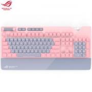 ROG 玩家国度 STRIX FLARE PNK LTD PINK 粉爱 机械键盘 (Cherry红轴)