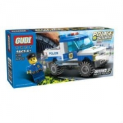 GUDI 古迪 城市警察系列 9306 警察皮卡9.9元包邮(需用券)