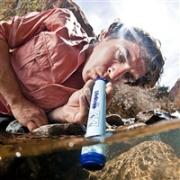 户外必备:LifeStraw 生命吸管/直饮过滤器