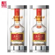 五粮液生产 五粮PTVIP 珍藏级浓香型白酒52度*2瓶 320元包邮 折合155元/瓶 同款京东658元/瓶¥320