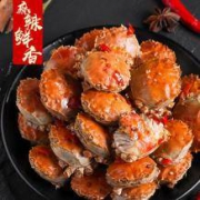 兴化大闸蟹 罐装即食香辣蟹 250g*2件