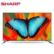 Sharp 夏普 XLED-50MY4200A 50英寸 4K超清智能平板电视