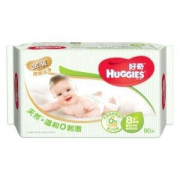 HUGGIES 好奇 铂金装 婴儿湿巾 80抽 *16件96.4元(合6.03元/件)