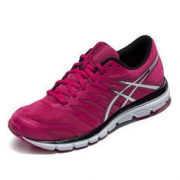 ASICS 亚瑟士 GEL-ZARACA 4 T5K8N3393 女运动鞋 粉/银色/黑色 37码 236元包邮236元包邮