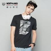 Northland 诺诗兰 男女款圆领短袖T恤 多色78元包邮(需领券)