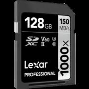 Lexar 雷克沙 1000X SDXC UHS-II U3 SD存储卡128GB 285元包邮(需用券)