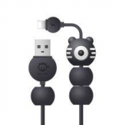 iChoco黑鱼 2A快充 创意吸盘充电线 1.2m9.9元包邮(需用券)