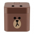 BULL 公牛 GNV-UU212B 布朗熊小魔方USB插座 1.5米69元包邮