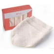 LUSN 如山 婴儿纱布口水巾 3条/盒 *4件68元(合17元/件)