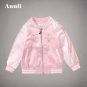 Annil/安奈儿 女童棒球服外套114元包邮(券后)