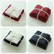 无印良品水洗棉床笠四件套床上用品 券后¥141.56