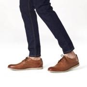 限尺码,Clarks 其乐 Raharto Plain Derbys 男士真皮休闲鞋 Prime会员免费直邮含税到手约343.95元