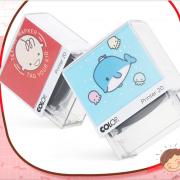 【白菜价】 colop防水洗可爱卡通儿童印章