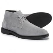 意大利奢侈品品牌, A.testoni 铁狮东尼 男士 真皮沙漠靴75美元约¥503(原价150美元)