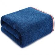 三利 纯棉色织AB纱彩边大浴巾 70×140cm 385克 蓝色 *3件 136.7元包邮(需用券,合45.57元/件)