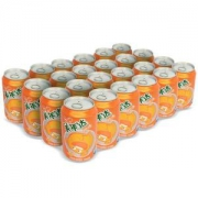 Mirinda 美年达 橙味汽水 330ml*24罐