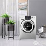 Panasonic 松下 XQG100-E1L2T 10公斤 变频滚筒洗衣机