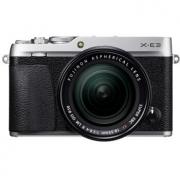 富士(FUJIFILM)    X-E3(18-55mm f/2.8-4)APS-C画幅 微单相机套机 银色/灰色