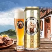 Franziskaner 范佳乐 小麦白啤酒 500ml*24听装