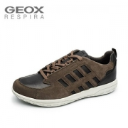 UK7码,Geox 健乐士 U Mansel A 男士低帮休闲鞋 Prime会员免费直邮含税到手301元