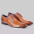 限UK7码,Ted Baker 泰德·贝克 Pelton 男士真皮正装鞋 Prime会员免费直邮含税到手293元