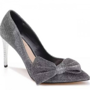Badgley Mischka 巴吉利·米诗卡 女士Jolanda闪耀高跟单鞋 Prime会员免费直邮含税到手386.62元