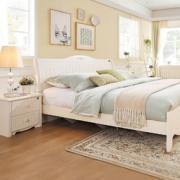 QuanU 全友家居 120611 板式床套装 1.8米床+床头柜*  2099元包邮2099元包邮