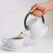 Kinto Ridge系列 白瓷茶壶 带滤网 750ml Prime会员免费直邮含税到手253元