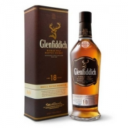Glenfiddich 格兰菲迪 18年 苏格兰达夫镇单一麦芽威士忌 700ml