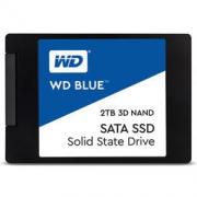 25日0点:WD 西部数据 WDS100T2B0A Blue系列-3D版 固态硬盘 2TB 1999元包邮