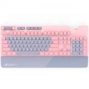ROG 玩家国度 STRIX FLARE PNK LTD PINK 粉爱 机械键盘 Cherry轴