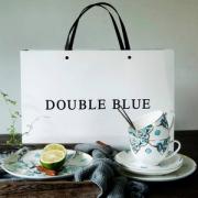 Double Blue 倍蓝 骨瓷双人8件套