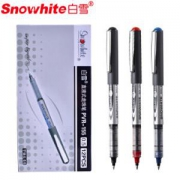 Snowhite 白雪文具 PVR-155 直液式走珠笔 12支混色装 *3件