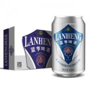 LANHENG 蓝亨 经典啤酒10度 纯酿啤酒 330ml*24听 *2件58元(双重优惠)