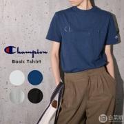 M码,日版 Champion 冠军牌 C3-M350 男士纯棉短袖T恤 Prime会员凑单免费直邮含税到手164.41元