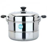 maxcook 美厨 MCZ-34 不锈钢二层蒸锅 34cm低至83.9元(400-150后)