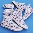 Converse匡威 ALL STAR 100 MANYPATCH HI 限定款男女士帆布鞋折后5373日元(约¥327)