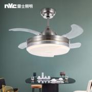 nvc-lighting 雷士照明 复古吊扇灯 带遥控 24W 399元包邮(满减)399元包邮(满减)