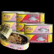 中华老字号,鹰金钱 优质豆豉罗非鱼 184g*8罐56元包邮