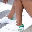 adidas  阿迪达斯 Stan Smith 复古绿尾小白鞋 B41624324.1元包邮(需用码)