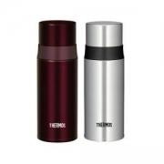THERMOS 膳魔师 FFM-350 不锈钢保温杯 350ml*2个 酒红色+银色