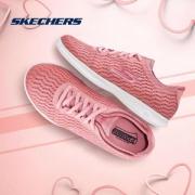 Skechers 斯凯奇 GO STEP LITE 女士纹理网布绑带健步鞋 14498